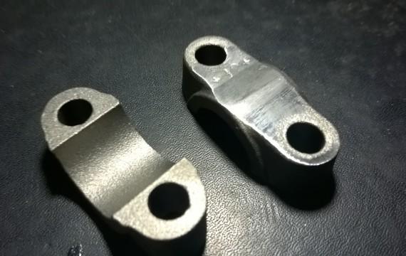 Clamp for handlebar